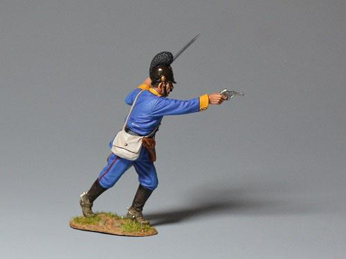 Bavarian Regiment - Major Rushing Forward