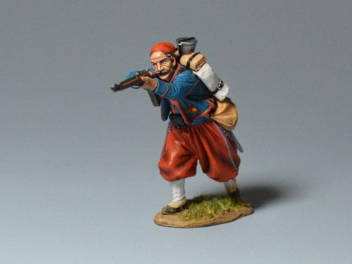 Zouave - Advancing Firing