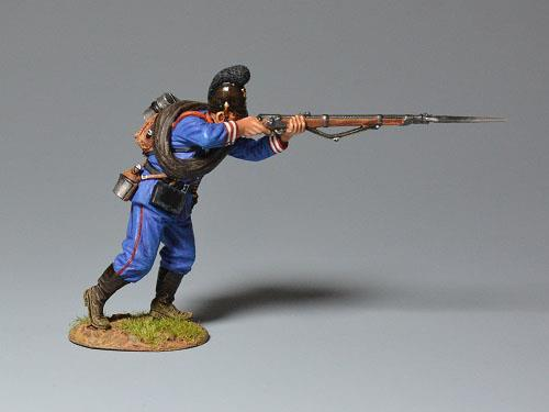 Bavarian Regiment - Advancing Firing