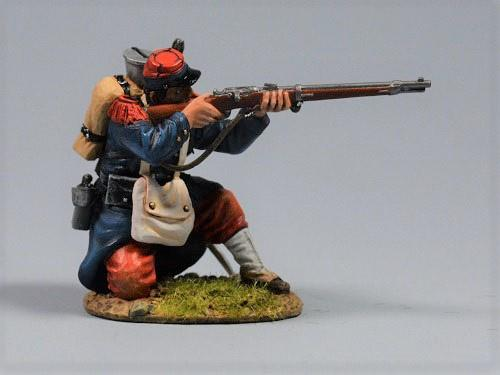 French soldier - Kneeling Firing