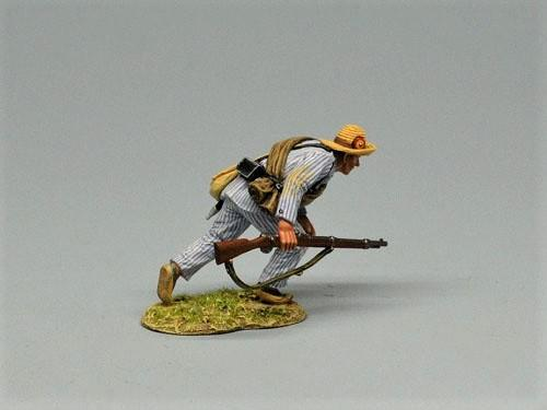 Advancing Spanish Infantry