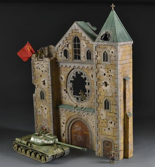 Kaiser Wilhelm Memorial Church Berlin 1945