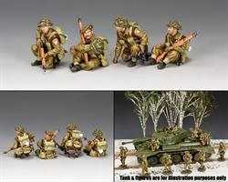 British Tank Riders Set