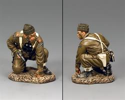 Crouching Officer w/ Pistol