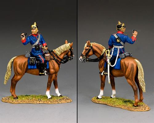 Mounted Prussian Line Infantry Officer