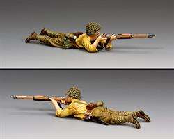 Lying Prone Rifleman