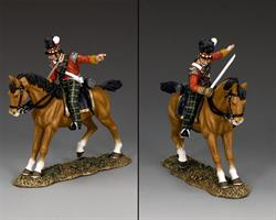 Mounted Highland Officer