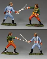 The Duellists, Set