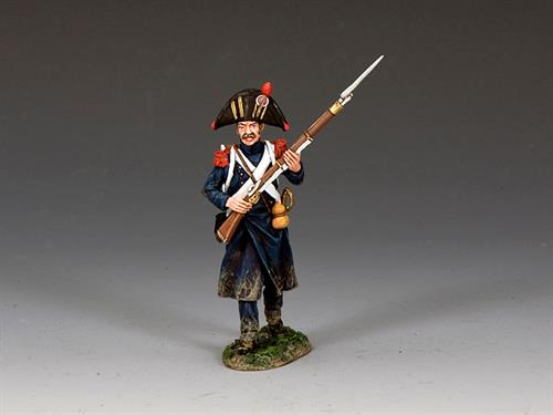 Bicorne Grenadier Advancing