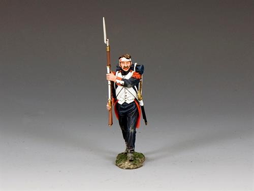 Old Guard Wounded Guardsman Shoulder Arms