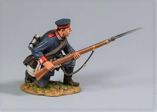 Prussian Soldier, Private Kneeling to Repel, 2nd Foot Guard Regiment