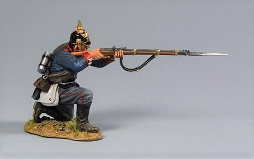 Prussian Soldier, Kneeling Firing Private, 2nd Foot Guard Regiment