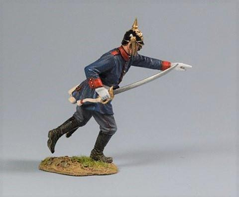 Prussian Officer, 2nd Foot Guard Regiment