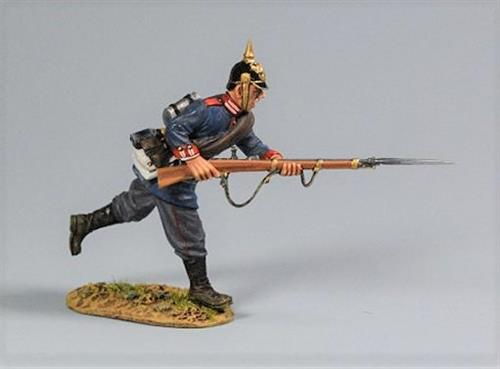 Prussian Soldier, Private Charging Forward, 2nd Foot Guard Regiment