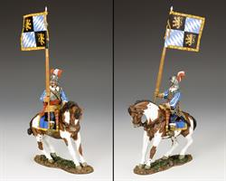 Royalist Mounted Flagbearer, the English Civil war