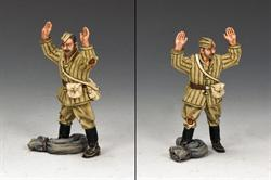 Red Army Soldier surrendering