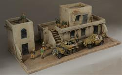 North African - diorama