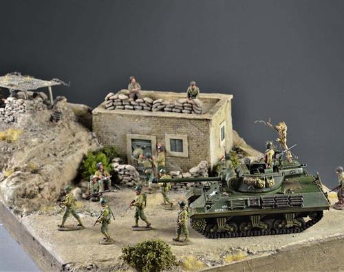 Military outpost - diorama