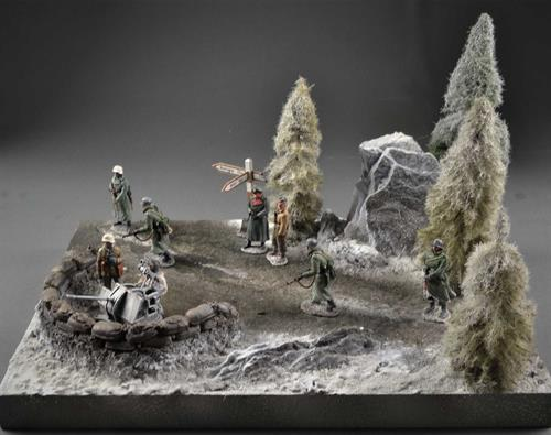 Winter Sandsack - Diorama