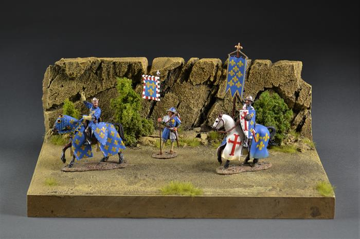 Desert diorama 36x24x14cm (Figures and vehicles not included)