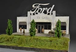 Singapore Ford Factory - diorama