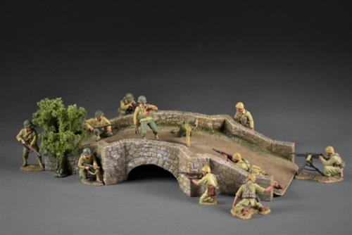 Southern European Stone Bridge with a tree