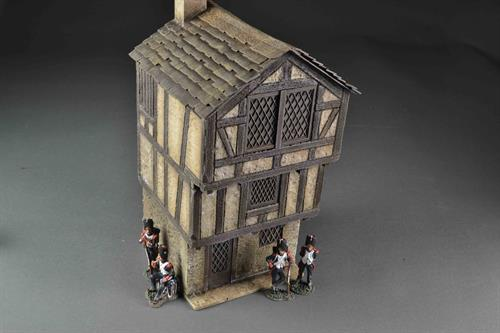 Medieval house - three floors