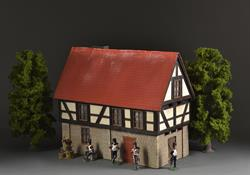 Half-timbered house A