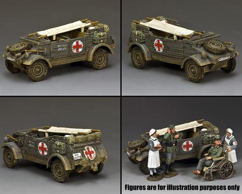 The Feldgrau Kubelwagen Ambulance
