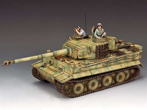 Michael Wittmann's First Battlefield Tiger