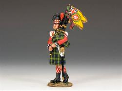 Gordon Highlanders Bagpiper