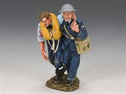 RAF Medic & Wounded Pilot