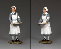 Nurse with Basin
