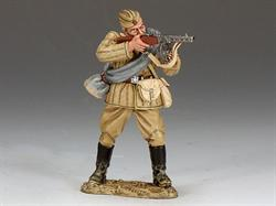 Red Army Soldier Standing Firing